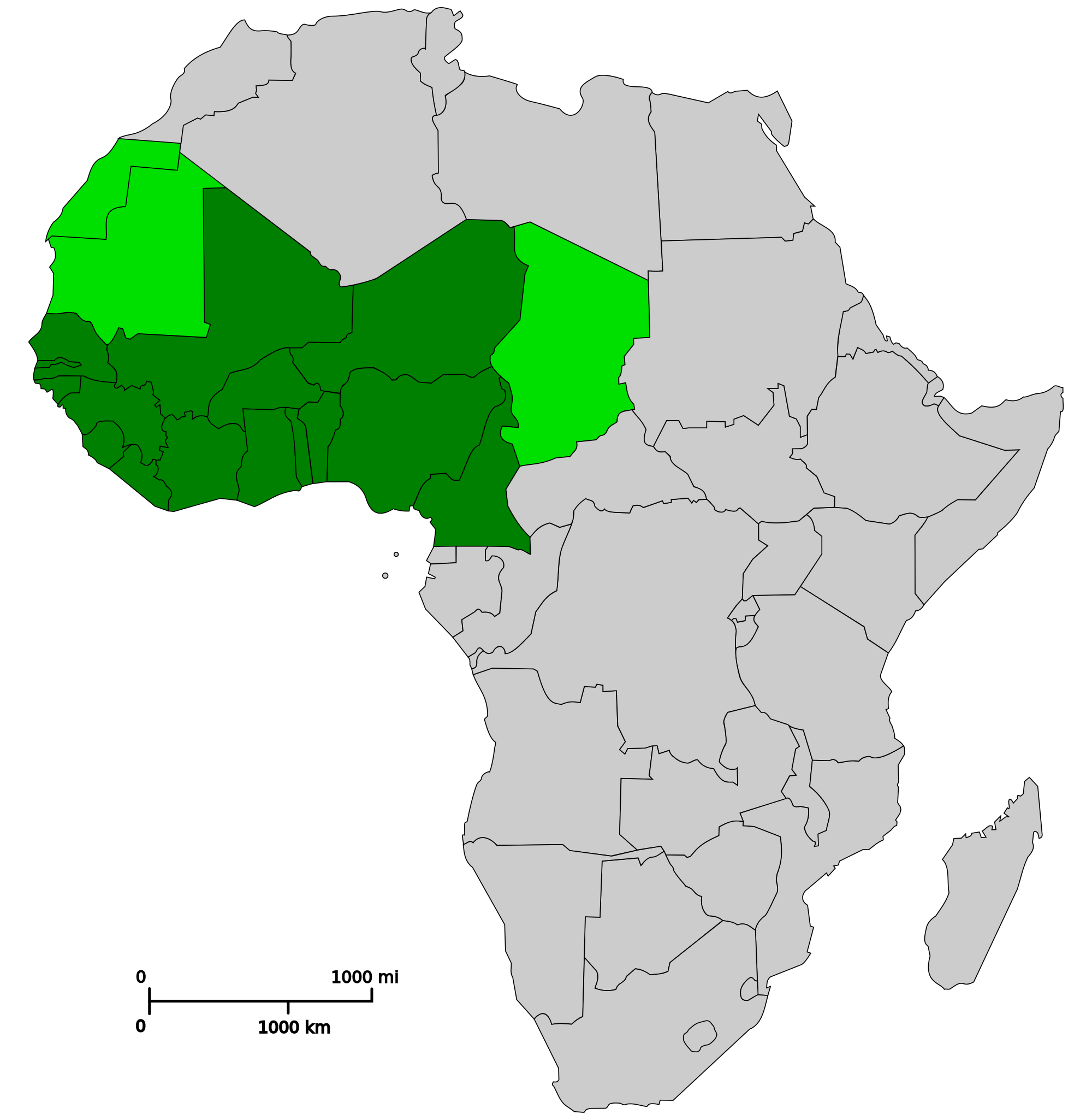 Africa .png. West map png campinglifestyle