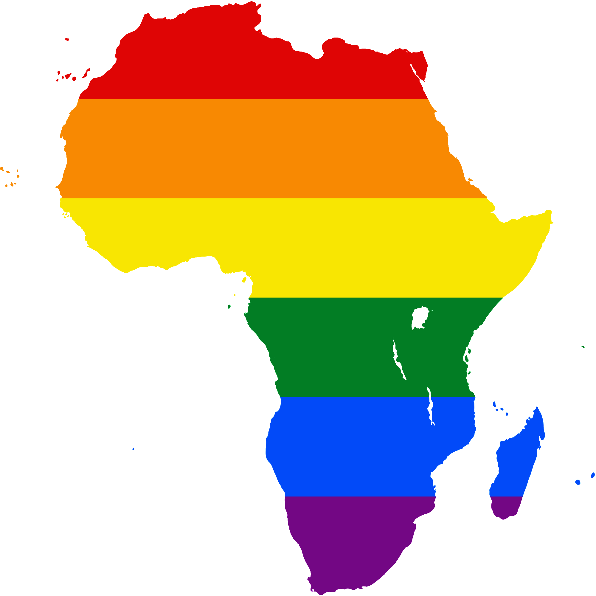 Africa png. File lgbt flag map