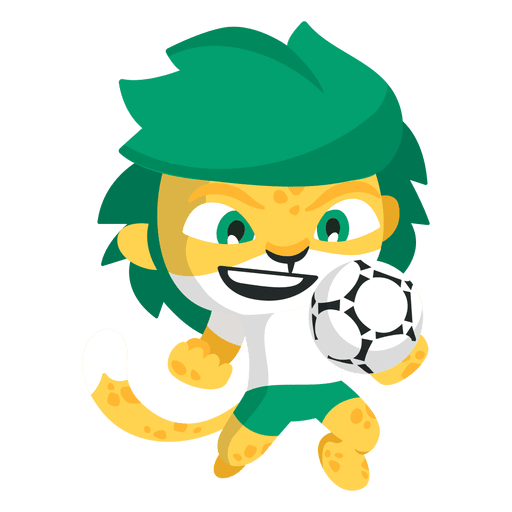 Zakumi south fifa mascot. Africa png image vector black and white