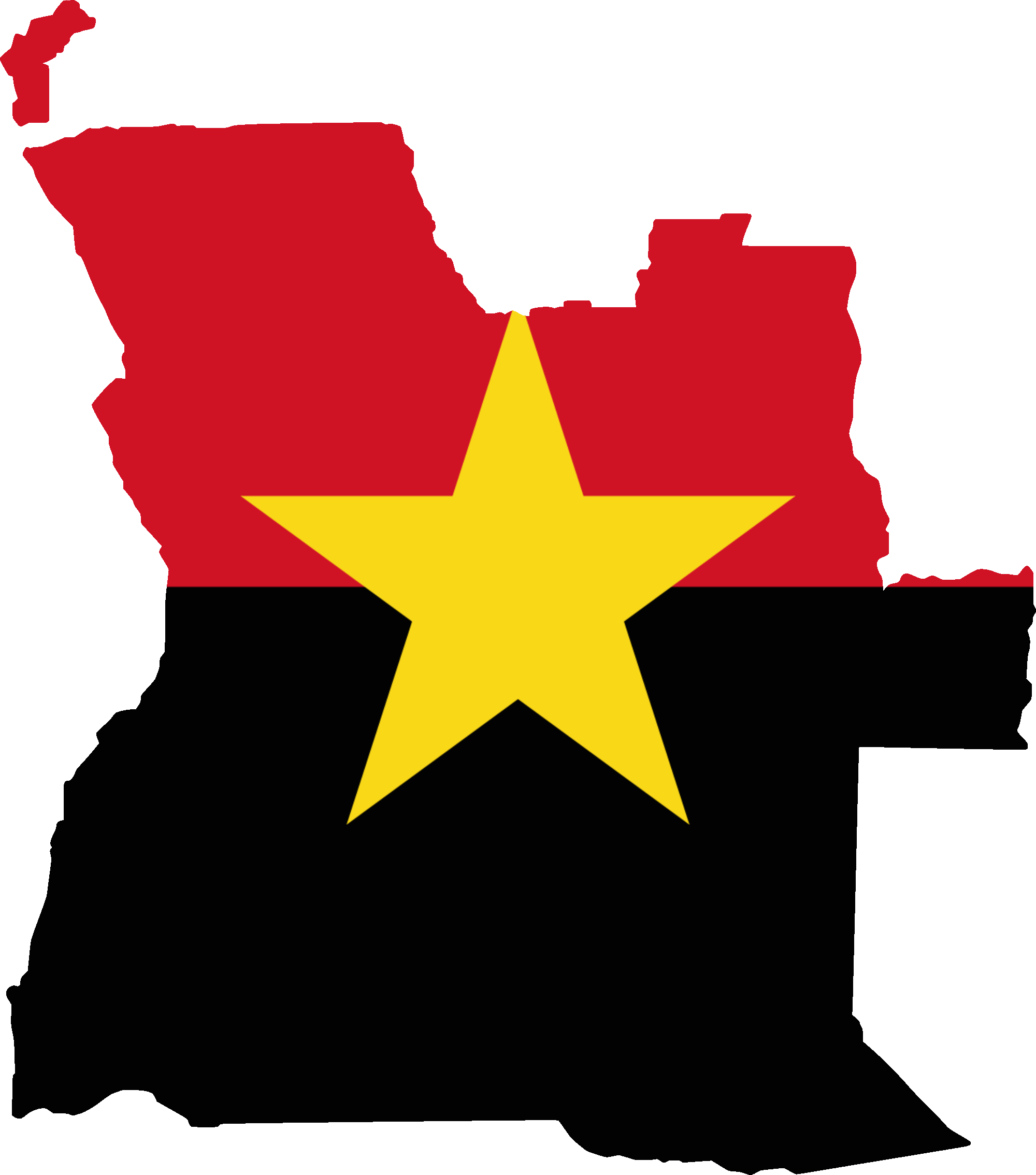 Africa shape png. File flag map of