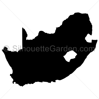 Africa silhouette png. South