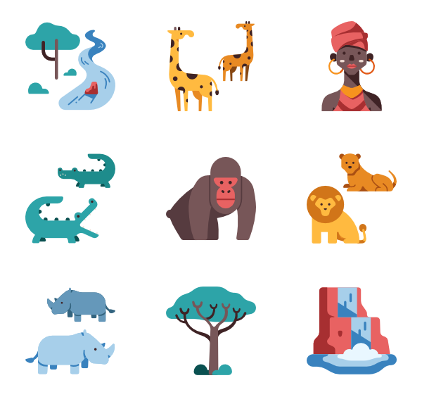 Africa vector png. Icon packs svg