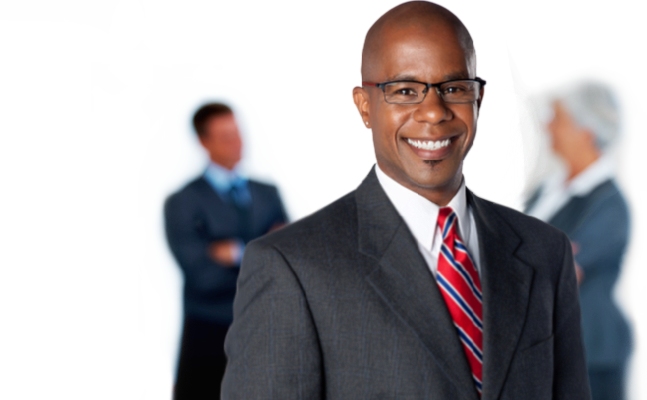 African american businessman png. Channelgroup banner library stock