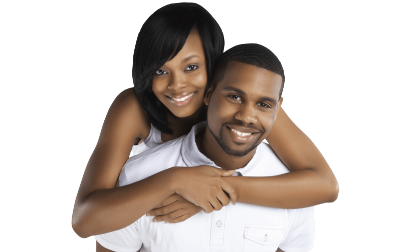 African american couple png. Black dating for free