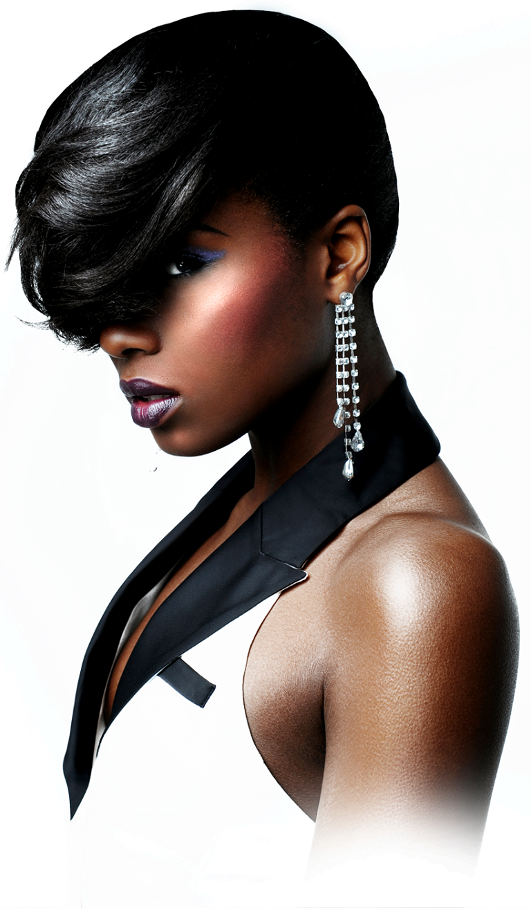 African american model png. Layout natural hairstyles for