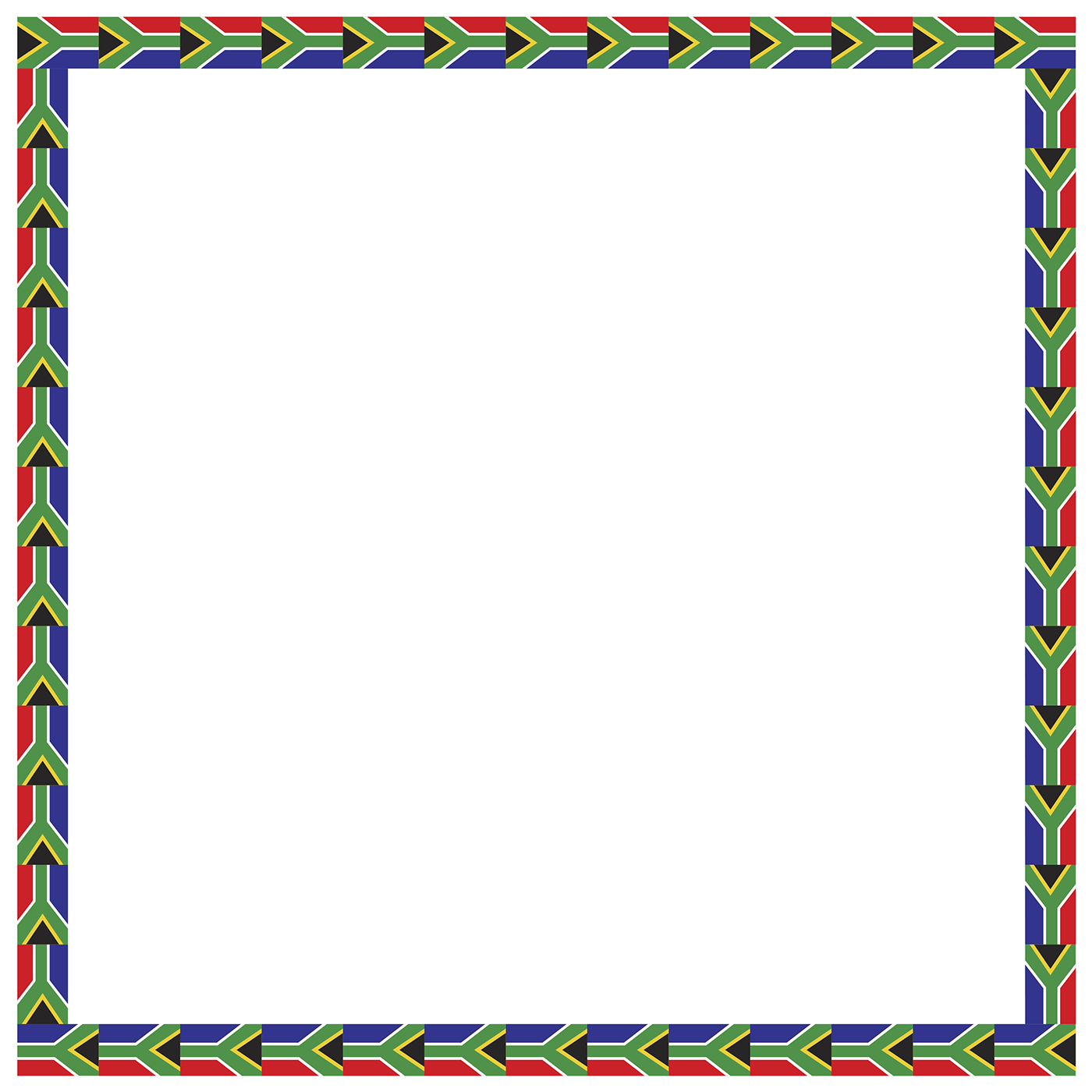 Active planet kids illustrations. African border png freeuse stock