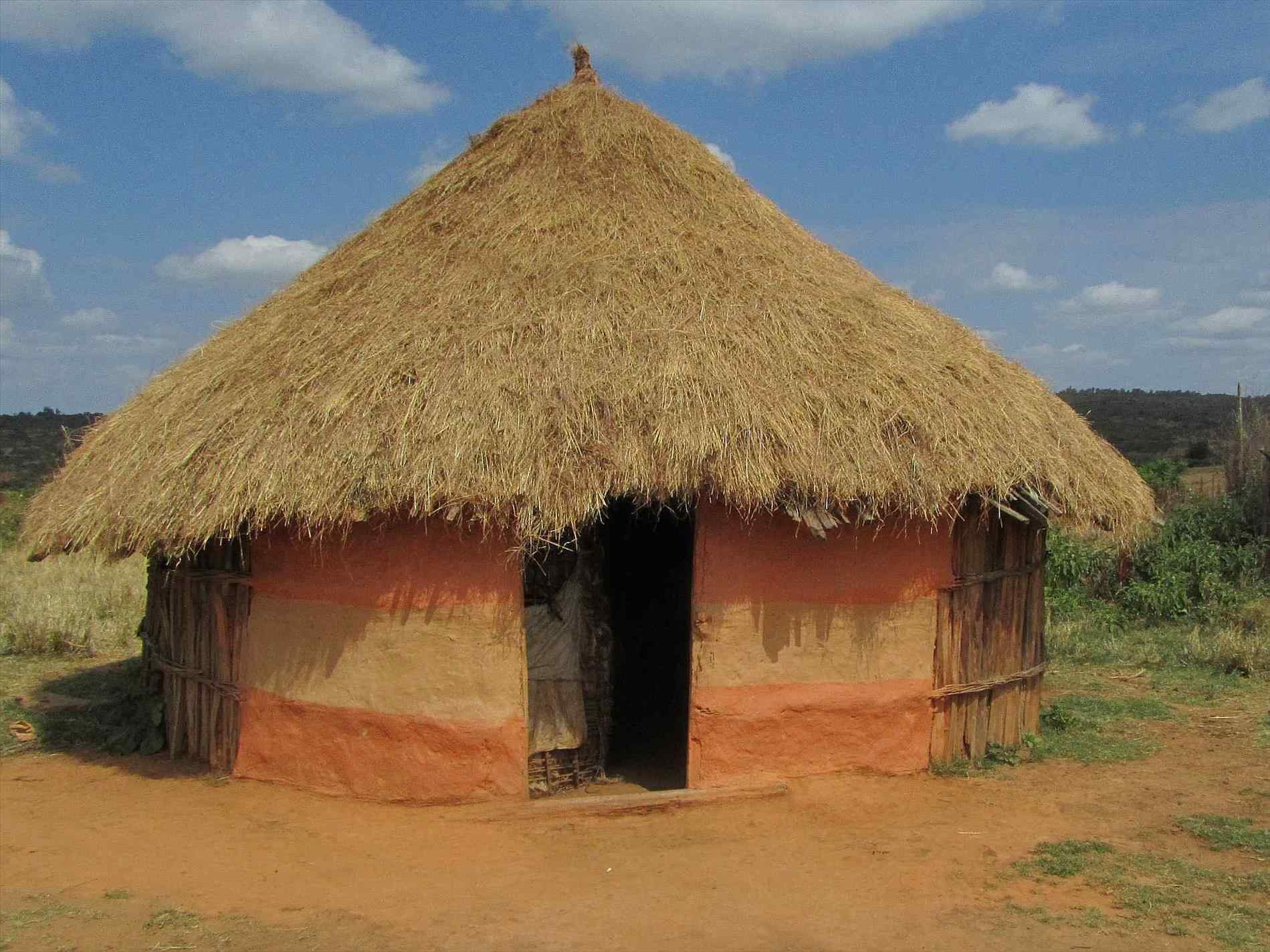 African clipart mud hut. House africa publizzity com