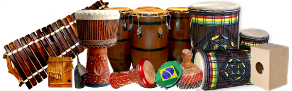 Djembe drums png. World percussion center african