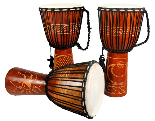 African drums png. Drum sales and importation