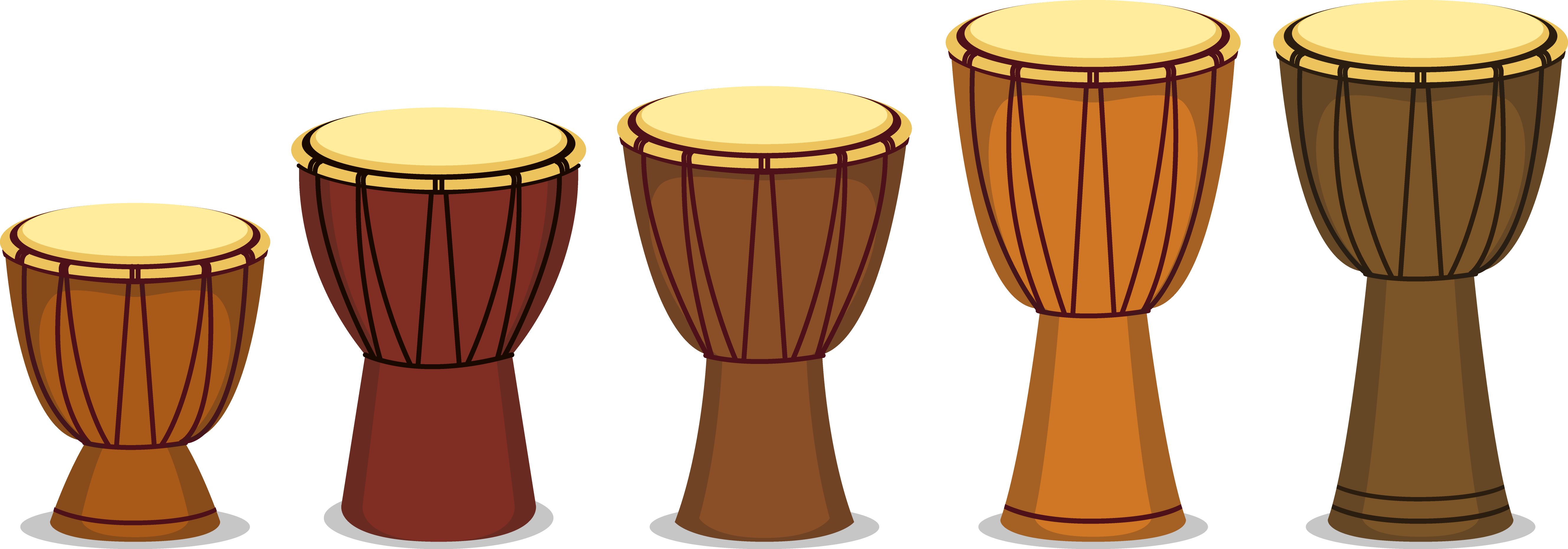 African drums png. Djembe tom drum music