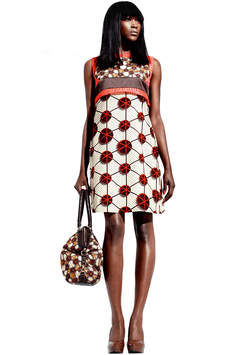 African fashion hot png. Silent empire vlisco dress