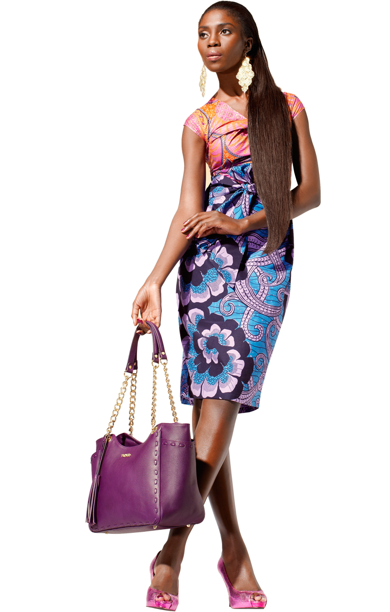 African fashion hot png. Wax print mix style