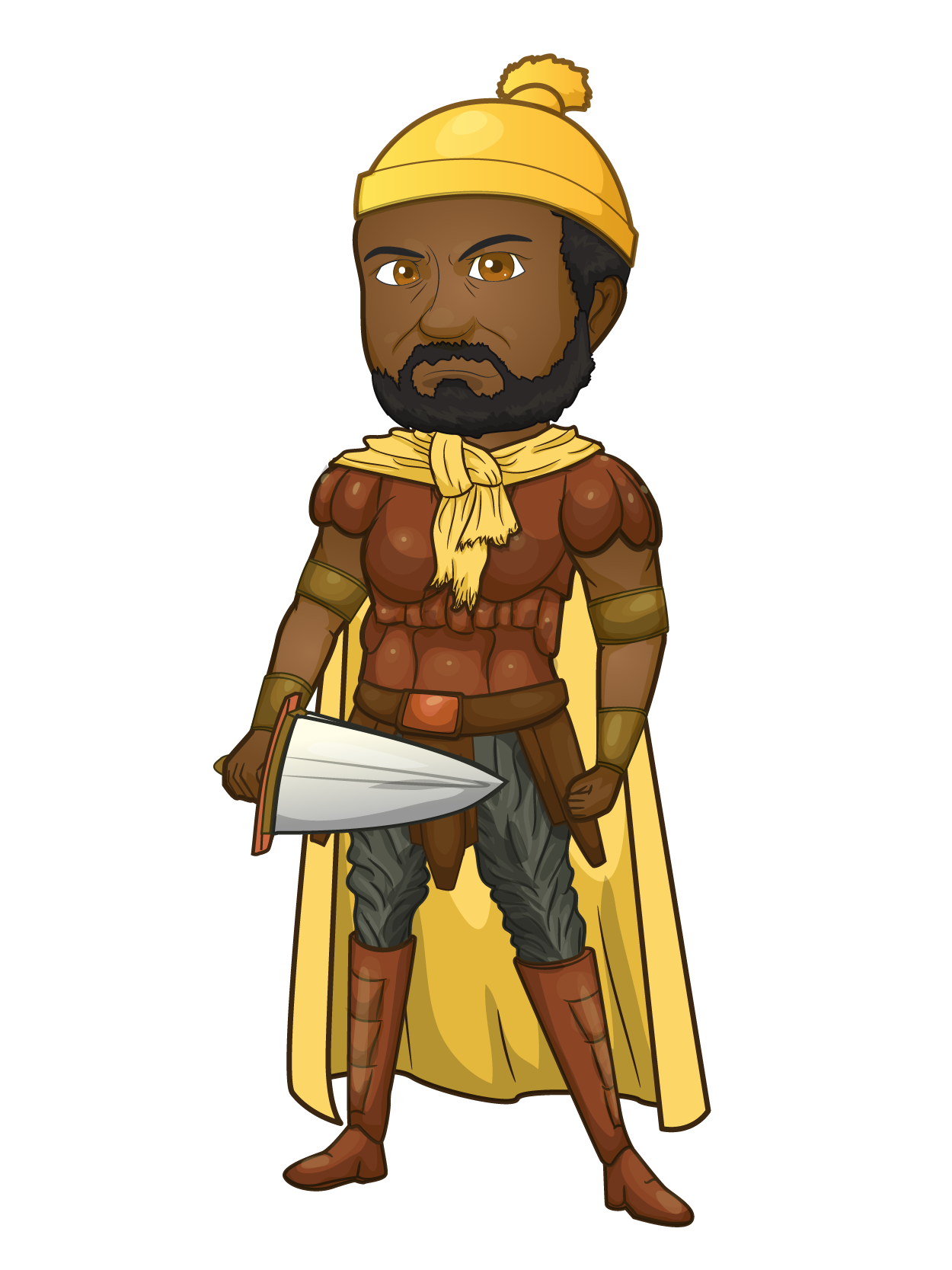 African king png. The historical dream my