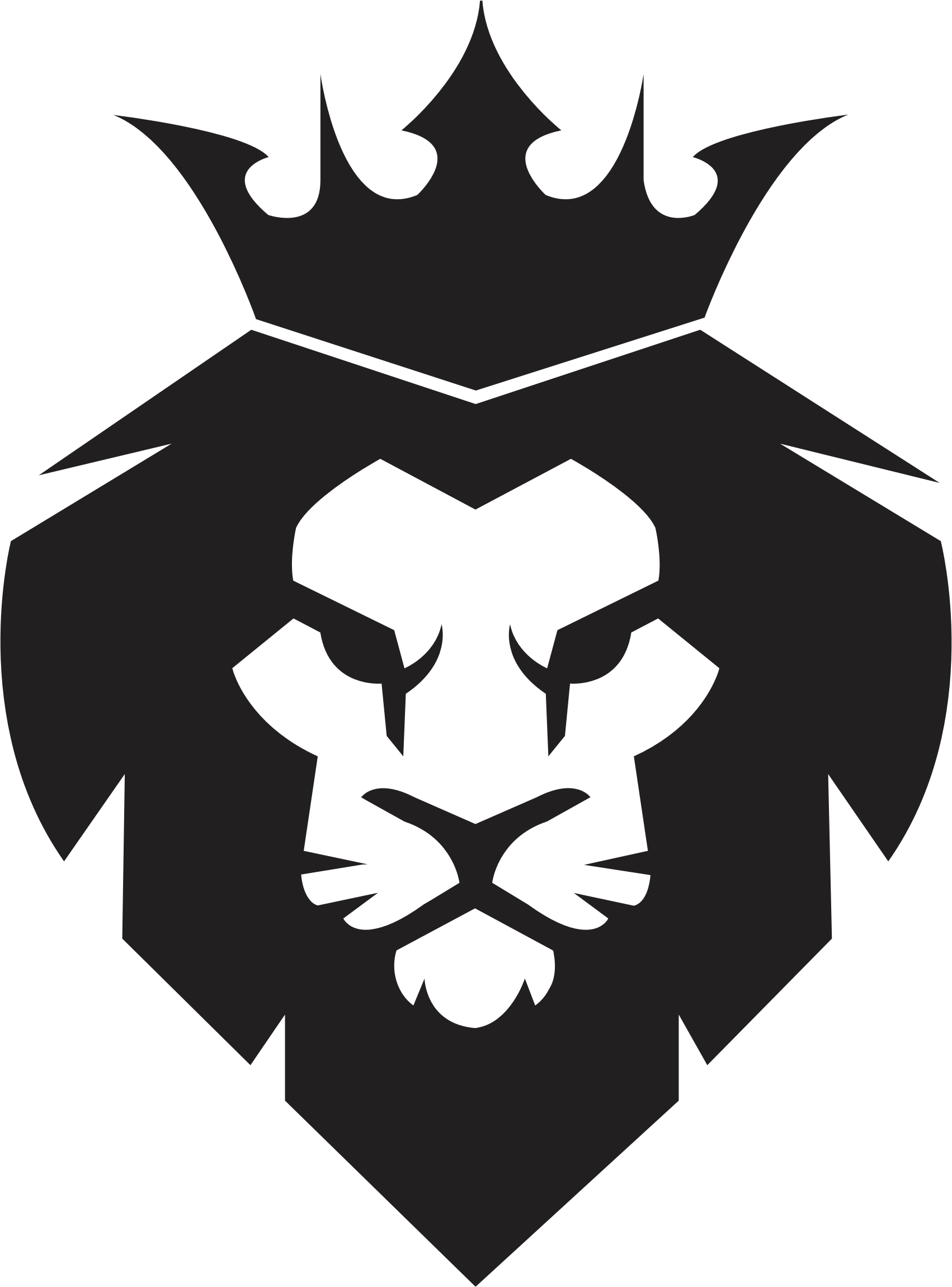 African king png. Clipart lion big image
