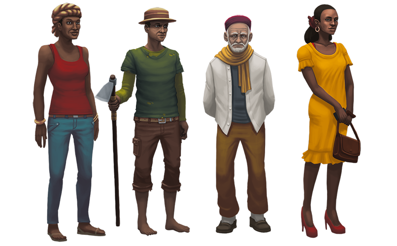 African people png. Steam community guide differences