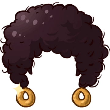 Afro clipart crazy wig. Hair hd png