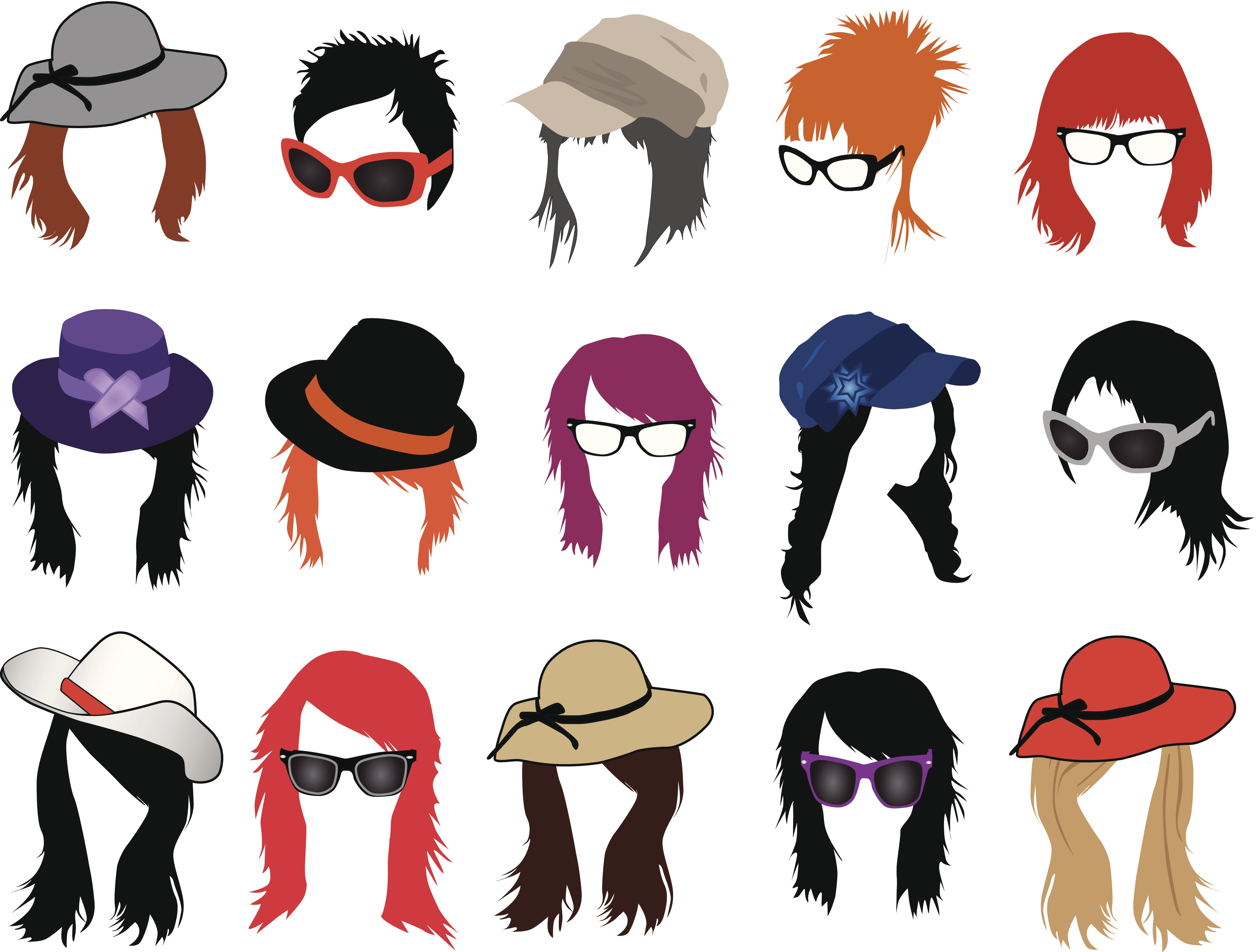 Afro clipart crazy wig. Fun facts hair solutions