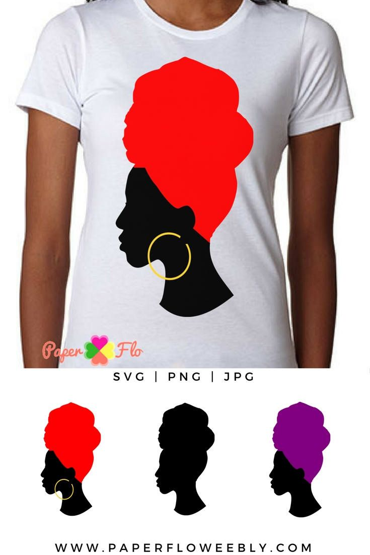 Headwrap svg silhouette clip. Afro clipart file banner freeuse stock