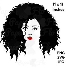 Hair eyelashes lips face. Afro clipart glass svg jpg library library