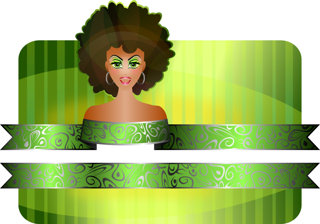 Christmas african american black. Afro clipart green hair banner stock