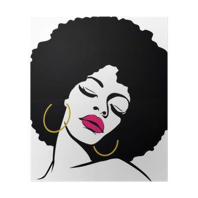 Afro lady png. Hair hippie woman pop