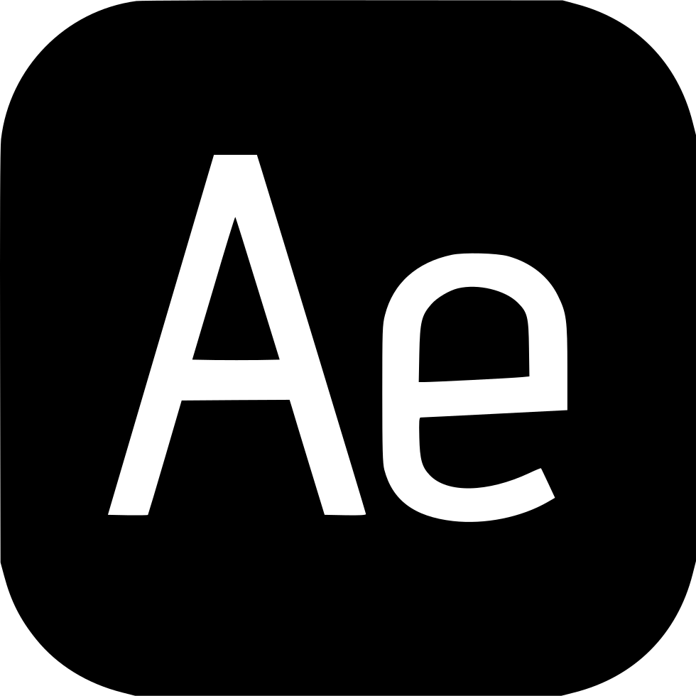 Adobe effects svg icon. After effect png jpg transparent stock