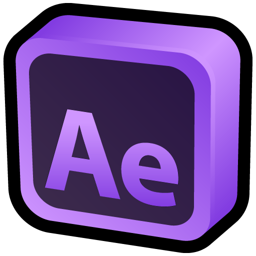 After effect png. Adobe effects icon d