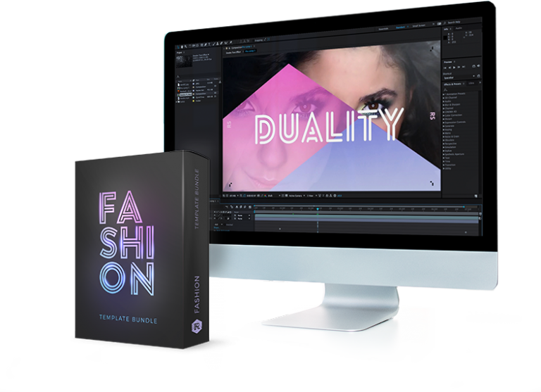 After effects import png sequence. Fashion bundle from rocketstock