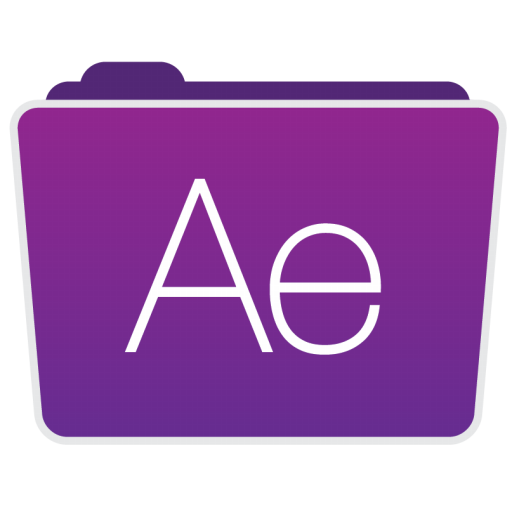 After effects png. Folder icon adobe folders