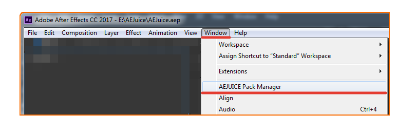 After effects png not transparent. Faq aejuice pack manager