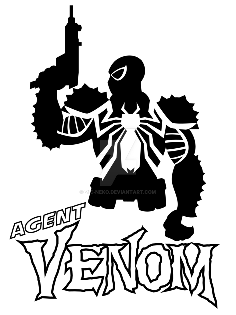 Venom vector marvel. Agent t shirt by