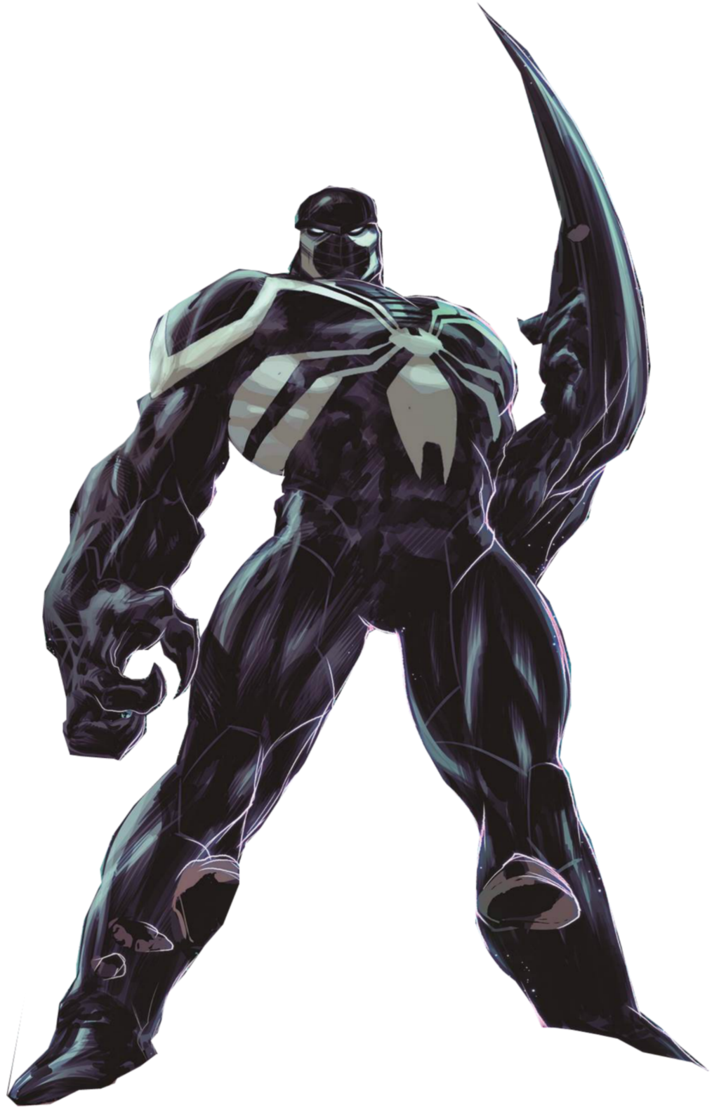 Agent venom png. Space knight by markellbarnes