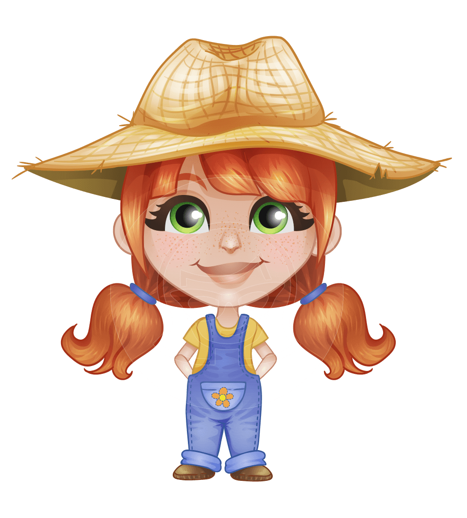 Agriculture clipart lady farmer. Mimi in farmland a