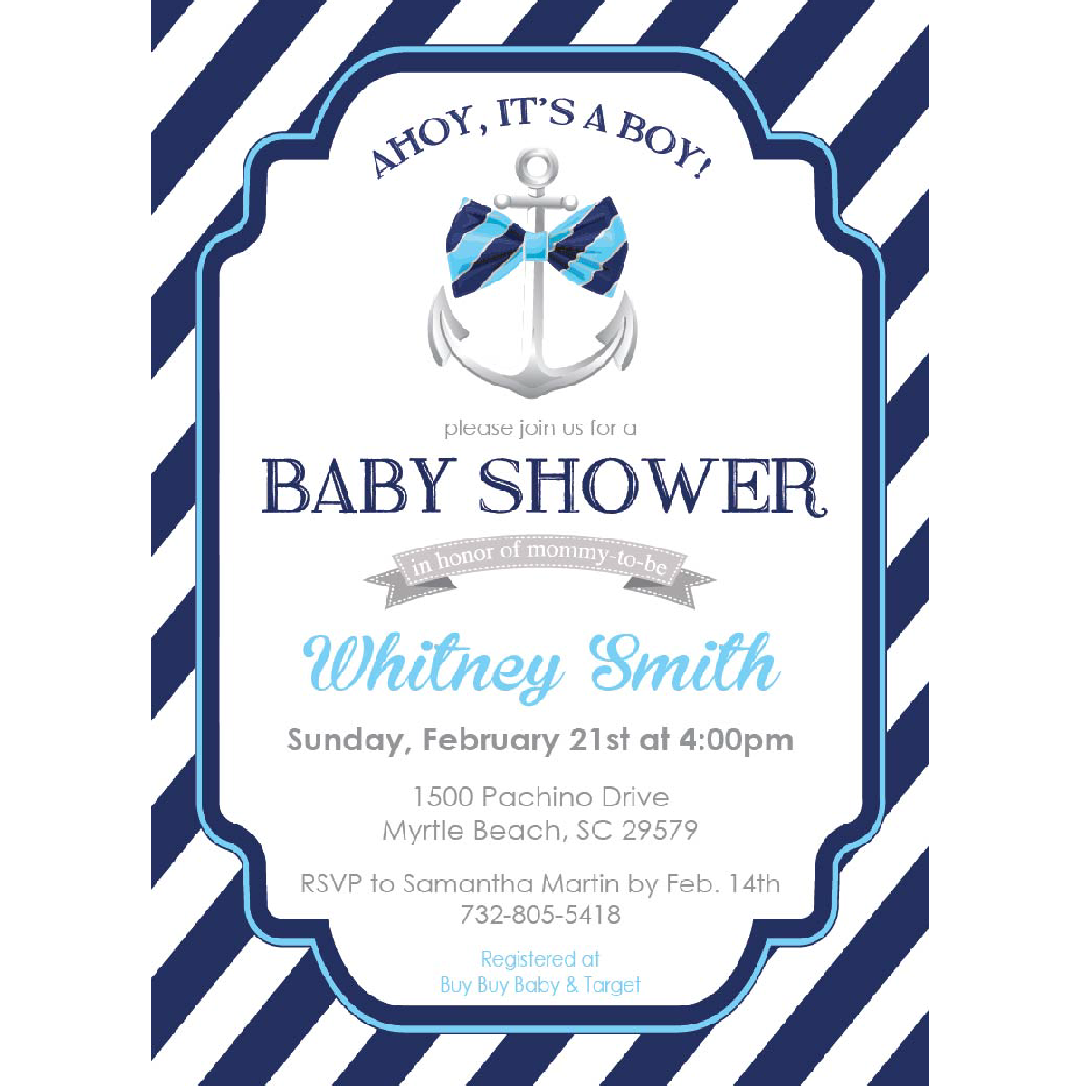 Ahoy its a boy png. It s baby shower