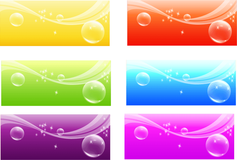 Ai vector background. Color banner file free