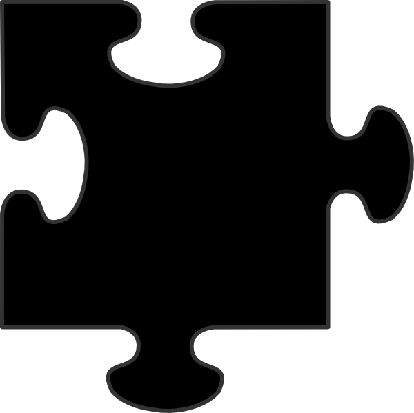 Ai vector border. Puzzle piece and eps
