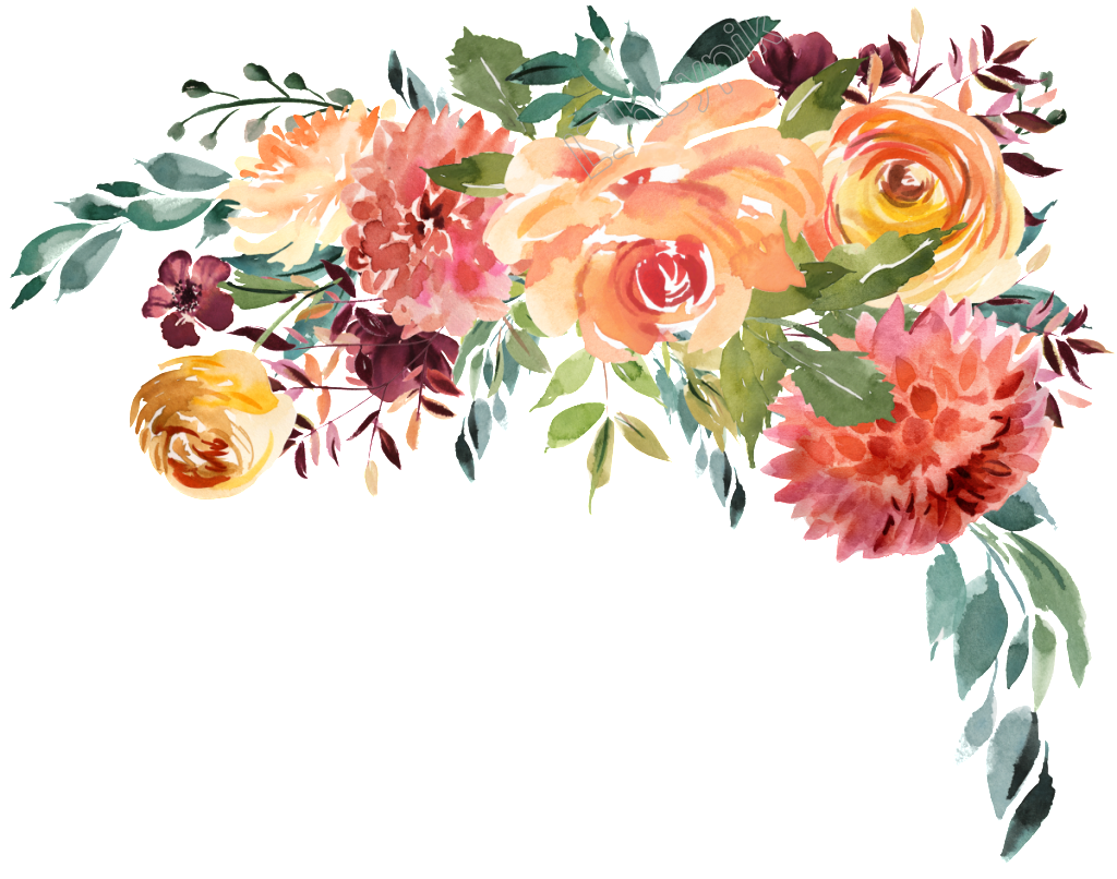 Ai vector flower. Watercolor free download image