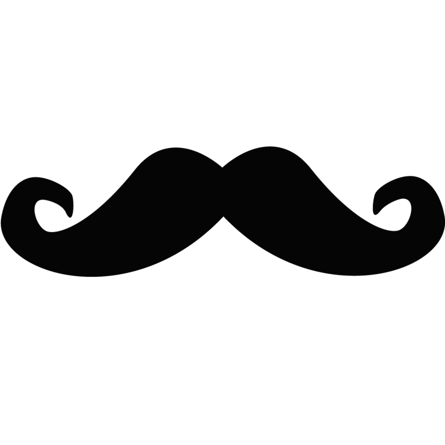 Ai vector mustache. Free png download clip