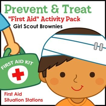 Aid clipart brownie. Prevent treat girl scout