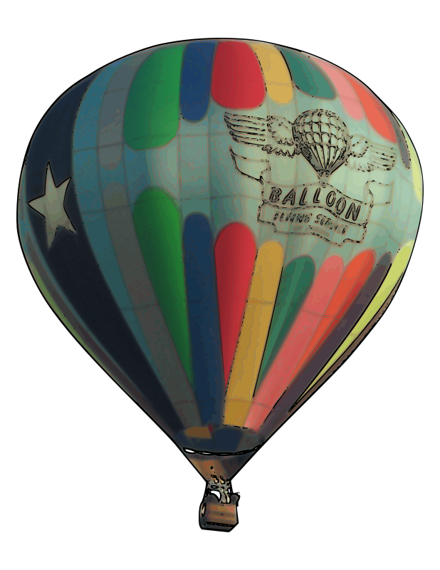 Air baloon png. Hot balloon clip art
