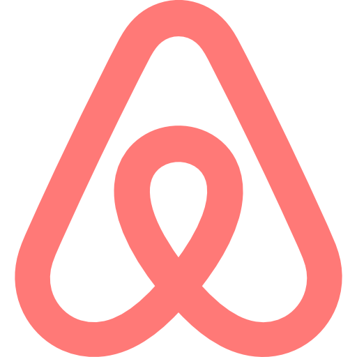 Airbnb logo png. Icon free of social