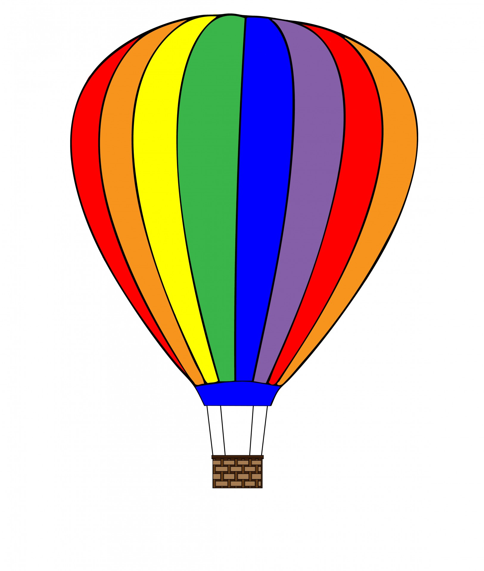 Hot balloon free stock. Air clipart clipart freeuse stock
