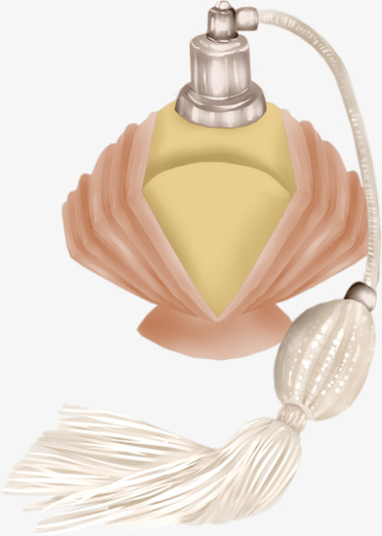 Creative Perfume Bottle, Squeeze, Gold, Air Pressure PNG Image and ...