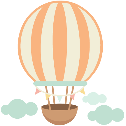 Pink hot air balloon png. Svg pinterest art cute
