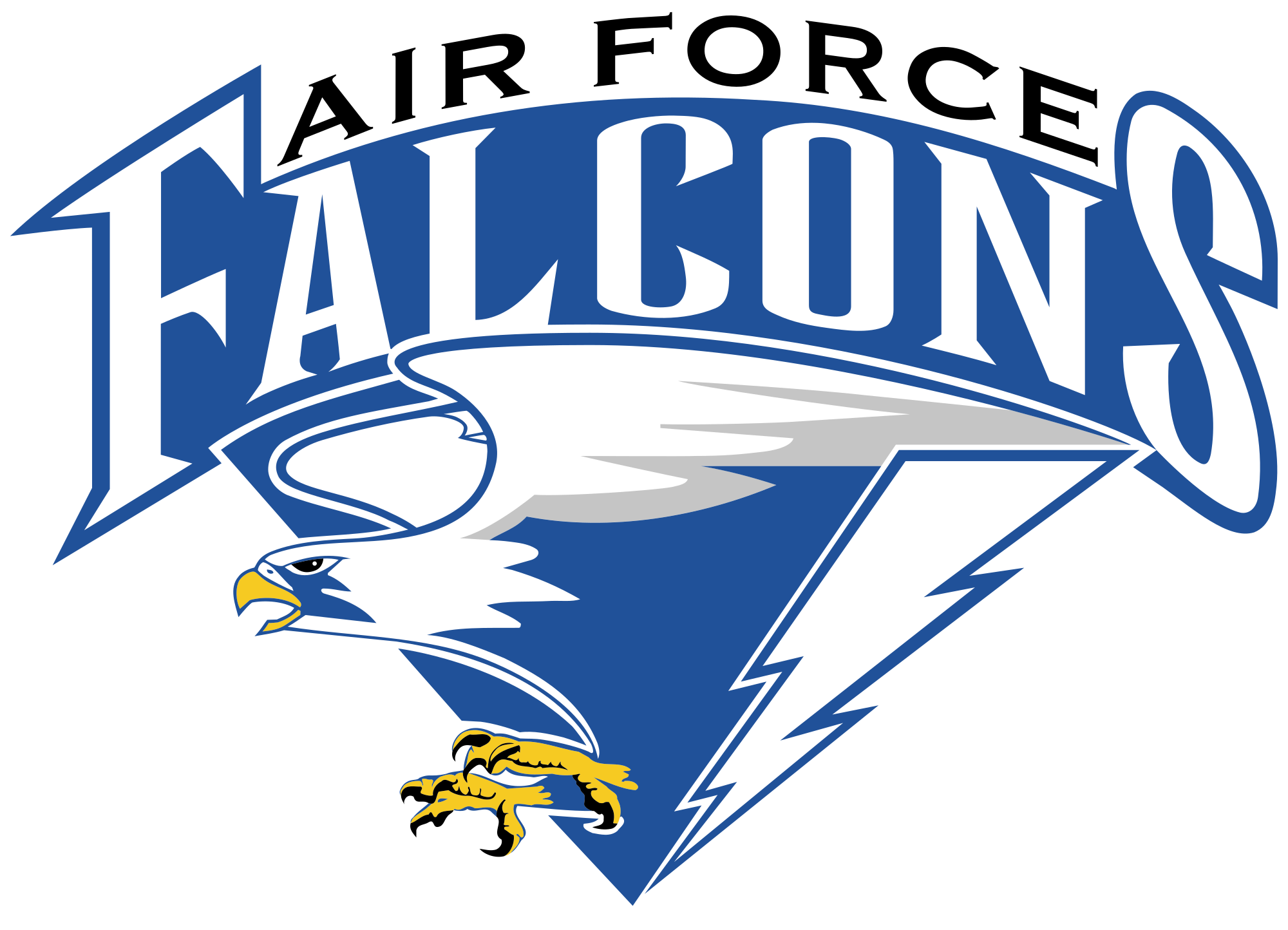 Falcons svg. File air force wikimedia download