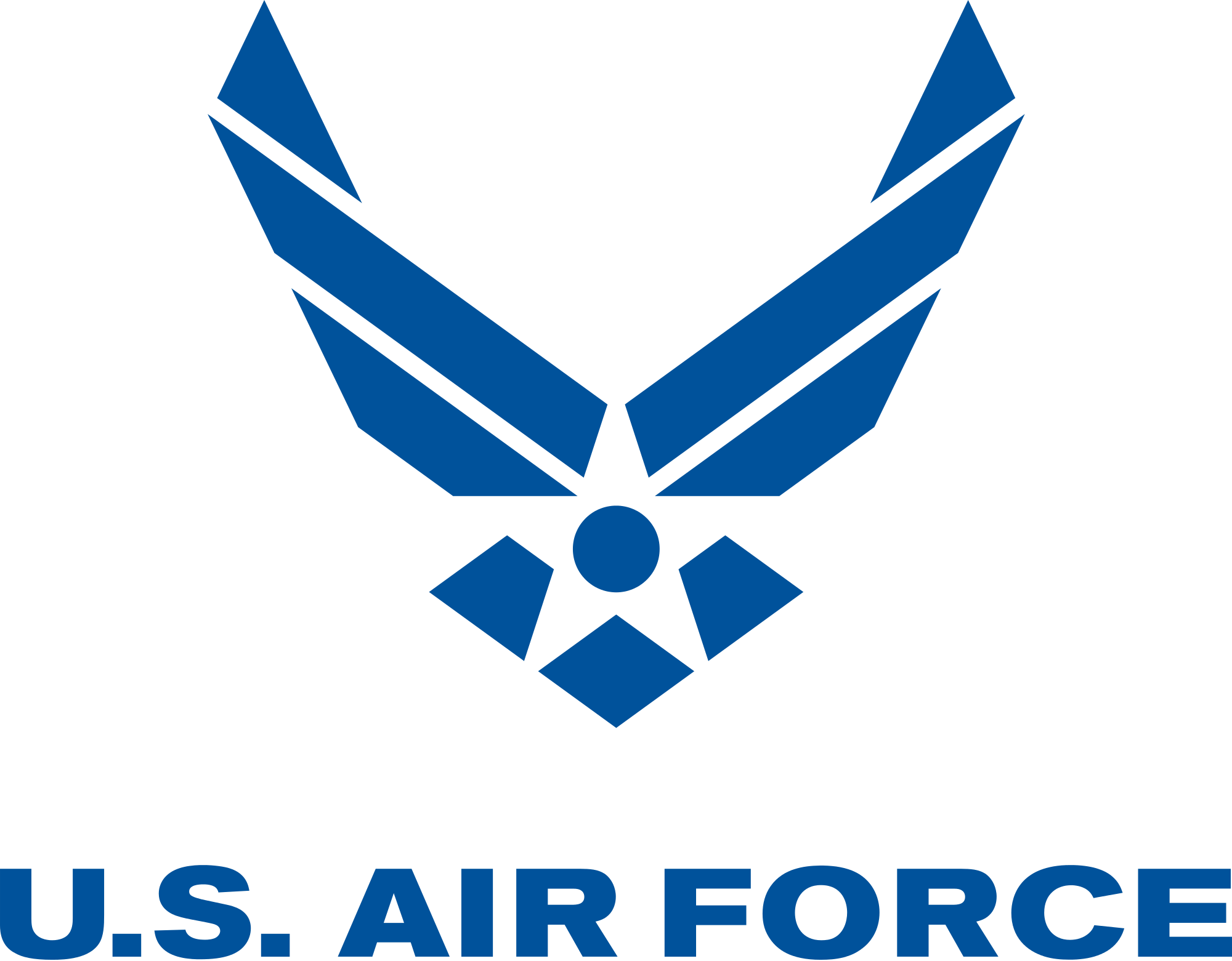 Air force logo png. Us airforce transparent stickpng