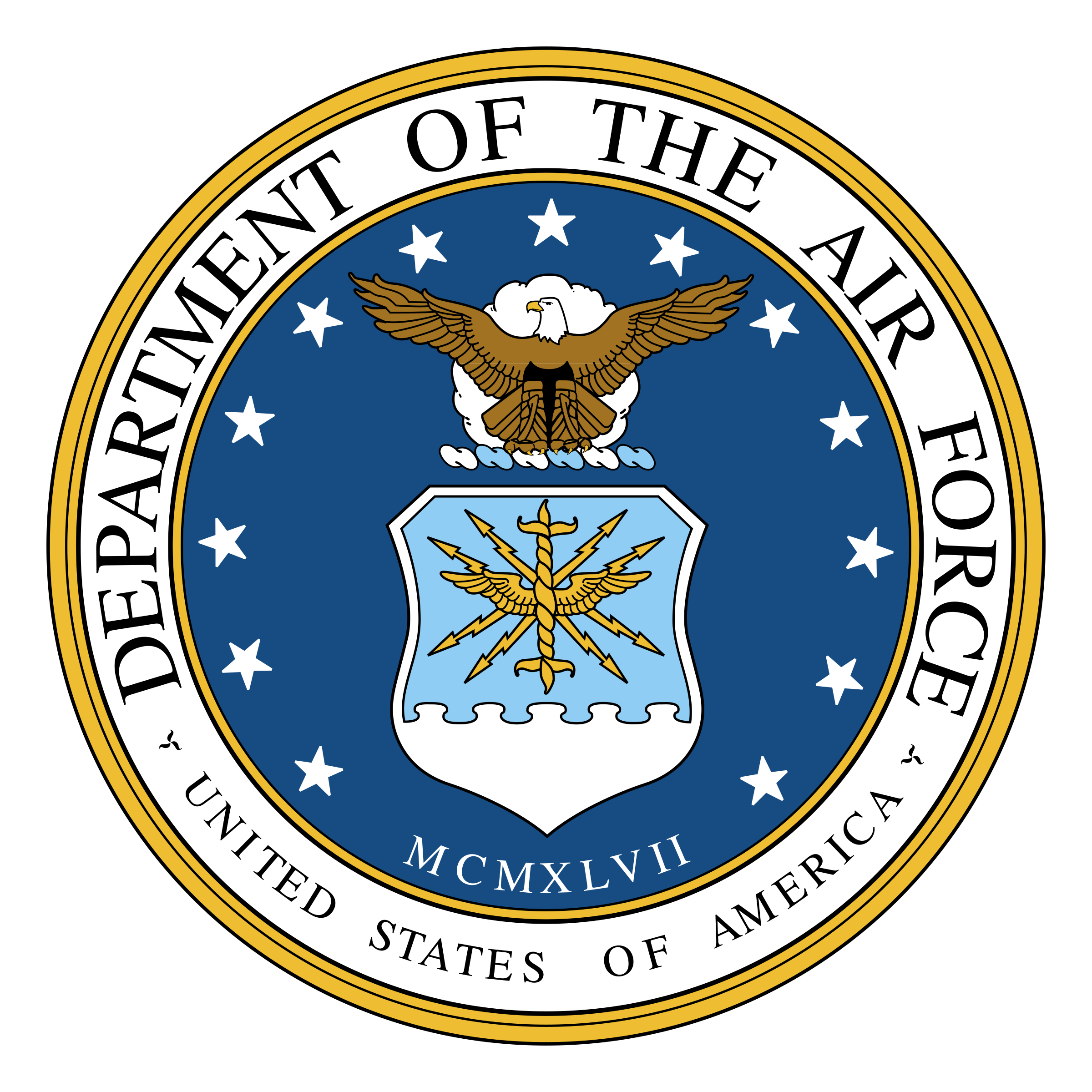 Air force logo png. Department of the transparent