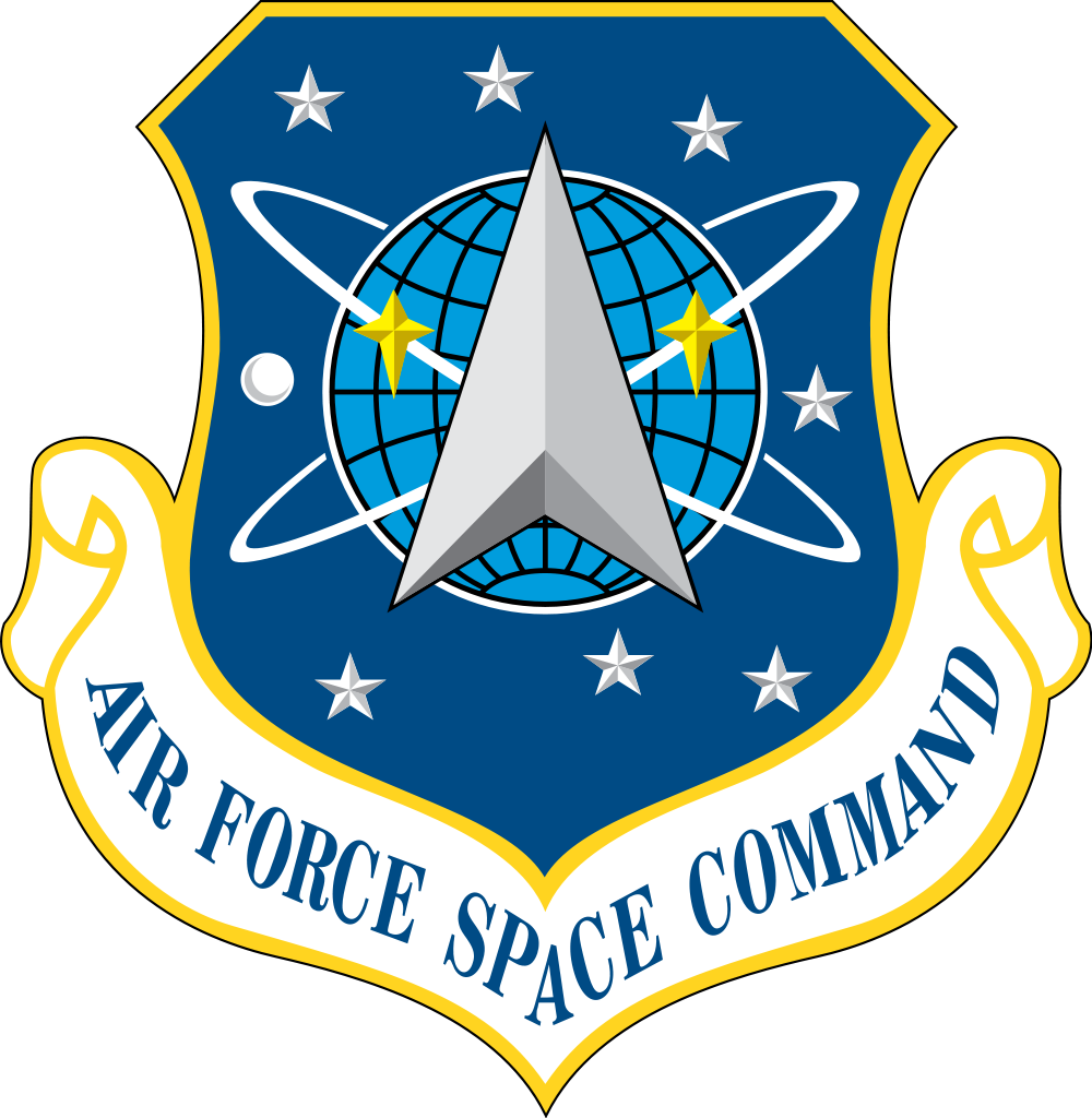 Air force png logo. Space command svg
