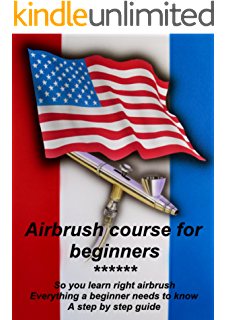 Airbrush drawing beginner. Learn how to paint