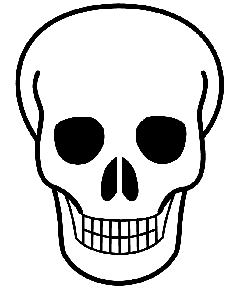 Airbrush drawing skull. Template funf pandroid co
